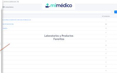 Laboratorios y Productos Favoritos