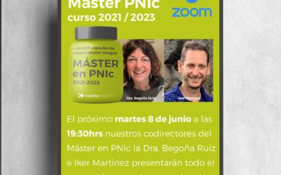 🌿¡Esta tarde te presentamos el nuevo Master en PNIc!🙊😍