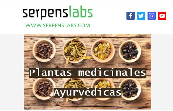 Serpens-Clases en video gratuitas -Fitoterapia Ayurvédica