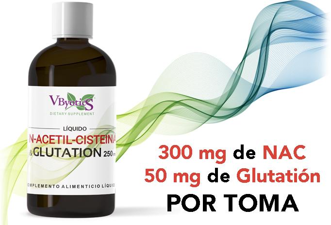 NUEVO NAC + Glutatión líquido