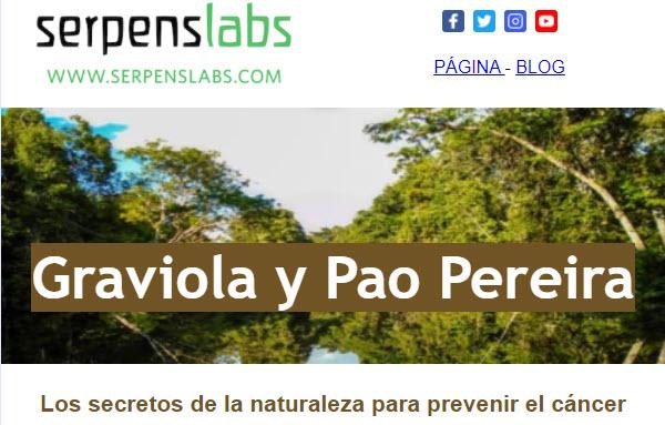 Graviola y Pao Pereira: los secretos de la naturaleza para prevenir el cáncer