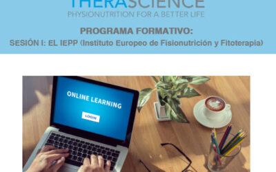 Recordatorio inscripción–> SESIÓN I: EL IEPP (Instituto Europeo de Fisionutrición y Fitoterapia)