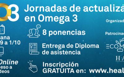 Bienvenido a las Jornadas de actualización en Omega 3😊